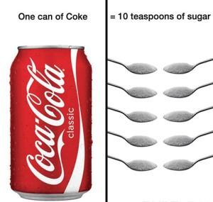 Coke-equals-10-teaspoons-of-sugar