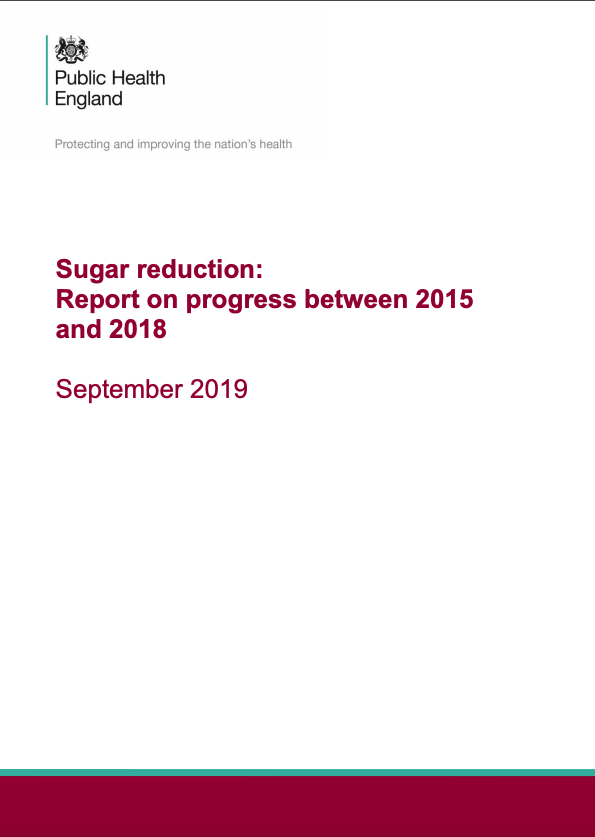 Sugar reduction report - Public Health England.png