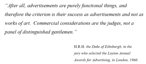 ads are purely functional things